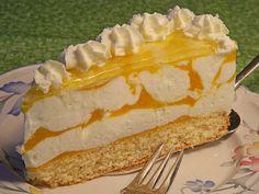 Käsesahnetorte mit Pfirsichen, ein raffiniertes Rezept aus der Kategorie Torten. Bewertungen: 62. Durchschnitt: Ø 4,5.