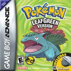 Nintendo GameBoy Advance - Pokemon Leaf Green