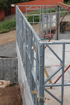 Steel Frame House, Steel House, Civil Engineering Works, Metal Stud Framing, Building Foundation, Steel Structure Buildings, Steel Frame Construction, Small Bedroom Designs, Home Projects