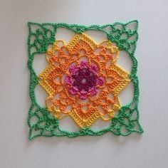 This pattern along with other granny square/motif patterns will make a great afghan.