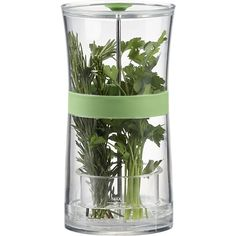 Herb Keeper in Food Containers, Storage | Crate and Barrel. My aunt swears she can keep her herbs or up to 2-3 weeks