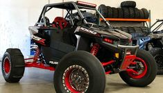 This is the first highly modified Polaris RZR we've seen since the brand new platform was unveiled less than a month ago. Polaris Ranger, Polaris Rzr, Polaris Off Road, Polaris General, Can Am Commander, Bone Stock, Sr1, 4 Wheelers, Snowmobiles