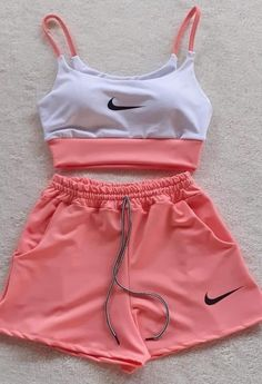 Cute Nike Outfits, Really Cute Outfits, Cute Lazy Outfits, Baddie Outfits Casual, Swag Outfits, Mode Outfits, Stylish Outfits, Girls Fashion Clothes, Teen Fashion Outfits
