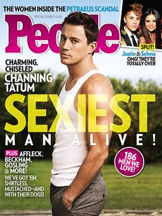 Congrats to this year's #SexiestManAlive, Channing Tatum! Get a preview of the Magic Mike star's cover story here:  http://www.people.com/people/package/article/0,,20315920_20647632,00.html