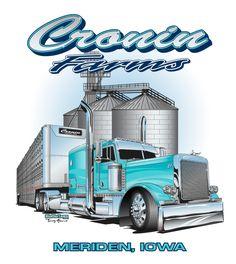 Show Trucks, Big Rig Trucks, Custom Big Rigs, Custom Trucks, Peterbilt Trucks, Chevy Trucks, Truck Store, Truck Art, Vintage Trucks