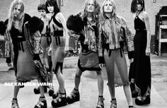 cool Alexander Wang F/W 2015.16 campaign by Steven Klein  [Ad Campaign]