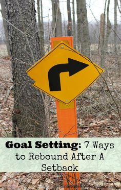 Fallen of track with your goals: Here are 7 ways to get back to working on your goal after a setback.