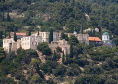 Mount Athos, Greece: 20. Konstamonitou monastery