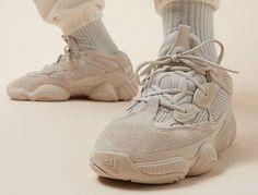 Are You Copping The adidas Yeezy 500 Blush Tomorrow? Yeezy Fashion, Sneakers Fashion, Fashion Shoes, Mens Fashion, Yeezy Collection, Blush Outfit, Adidas Sneakers, Shoes Sneakers, Footwear Shoes
