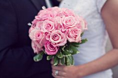 Light pink rose bridal bouquet | villasiena.cc