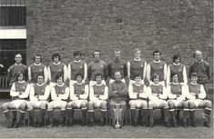 Double winning team 1970/71