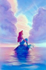 The Little Mermaid Ariel Disney Fine Art Giclee by John Alvin . Ariel Disney, Goth Disney, Disney Princess Art, Disney Magic, Ariel Ariel, Disney Princess Drawings, Mermaid Disney, Walt Disney, Disney Animation