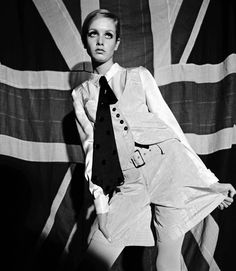 Twiggy, by Terence Donovan