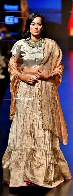 Sailesh Singhania at Lakmé Fashion Week summer/resort Lakme Fashion Week, Fashion Weeks, New Model, Sari, Summer, Dresses, Festive, Models, Winter