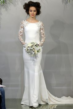 Theia Bridal - Spring summer 2016 bridal shows in New York   Best wedding dresses from Marchesa, Oscar de la Renta, Carolina Herrera   Harper's Bazaar