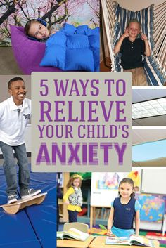 5 ways to relieve your child\'s anxiety by Fun and Function!