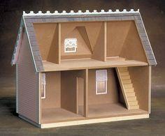 La casa rural victoriano Jr. casa de muñecas por DiscountDollhouse