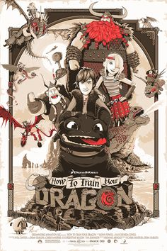 'This is Berk' - How to Train your Dragon by Patrick Connan
