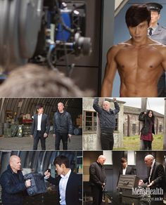 The actor was recently in New York, where the magazine caught up with him, as he promoted his new film with co-star Bruce Willis. In his interview, the number one man in Lee Min Jung's life talks about the mental and physical training to prepare for his roles, particularly RED 2 and G.I. Joe 1 & 2.