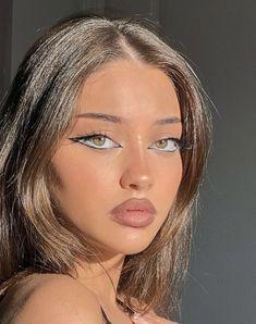 Makeup Eye Looks, Cute Makeup, Glam Makeup, Pretty Makeup, Skin Makeup, Makeup Inspo, Makeup Inspiration, Beauty Makeup, Maquillage On Fleek