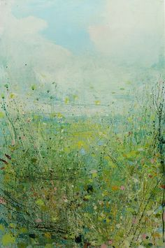 "Saatchi Online Artist: Sandy Dooley; Acrylic, 2013, Painting ""Spring Feeling"""