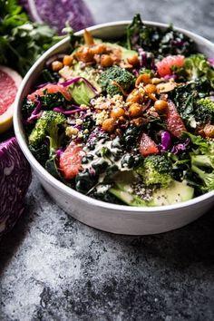 Vegetarian Recipes, Cooking Recipes, Healthy Recipes, Detox Recipes, Salad Recipes, Detox Tips, Healthy Salads, Healthy Eating, Healthy Lunches