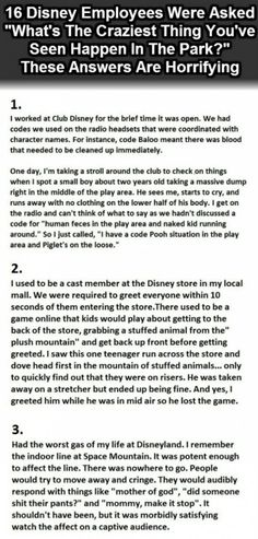 Disney Park Confessions--click for more!!