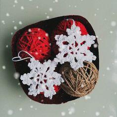 Handmade Christmas ornaments and glitter bowl 🎄🎁⛄ #diy #handmade #christmas #crochet #diychristmas #craft #creative