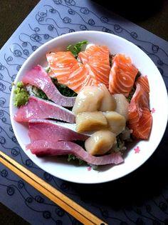 Honma has seafood yeah! It is! It is! LOL - 43 Munugu - seafood bowls! By miraiko - 本間に海鮮はええ!!!笑 - 43件のもぐもぐ - 海鮮丼!! by miraiko