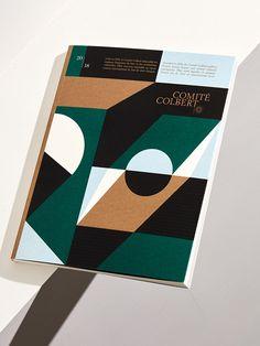 Comité Colbert - Rapports annuels - Les Graphiquants - Graphic Design Studio, Graphic Design Books, Book Design Layout, Print Layout, Book Cover Design, Graphic Design Inspiration, Graphic Art, Artwork Design, Design Art