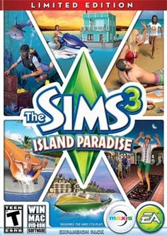 The Sims 3 Island Paradise video game