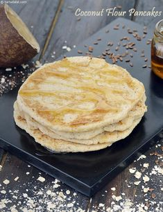 Coconut Flour Pancakes, Eggless