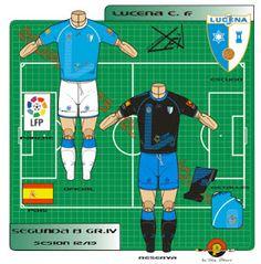 Lucena CF of Spain kits for Football Kits, Wetsuit, Spain, Logos, Swimwear, Shirts, Soccer Kits, Scuba Wetsuit, Bathing Suits