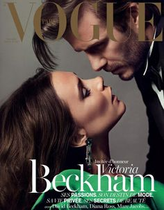 For its December-January 2014 edition, Vogue Paris taps famous husband and wife team Victoria and David Beckham. Victoria Beckham, also serves as the guest editor for the issue. David E Victoria Beckham, Victoria Beckham Vogue, Victoria And David, Victoria Beckham Style, Vogue Covers, Vogue Magazine Covers, Issue Magazine, Spice Girls, Vogue Paris
