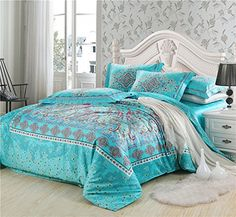 Cliab Boho Bedding Bohemian Bedding Exotic Bedding Full 100% Cotton Duvet Cover Set Cliab Duvet Cover Sets http://www.amazon.com/dp/B00MTGQNZE/ref=cm_sw_r_pi_dp_IwS0ub07QQY9A