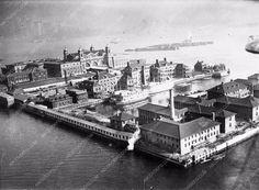 April 22 1925 view of Ellis Island cool photo 1309-03