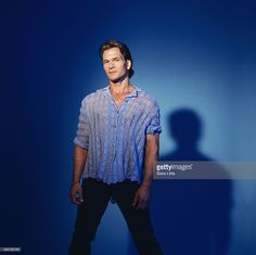 News Photo : Actor Patrick Swayze is photographed in 2000 in...
