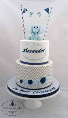 little blue elephant - Cake by Rose, Sweet Surprise Cakes