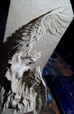 """Проект """"АНГЕЛЫ"""" -фрагмент колоны.Алексей Коробка."""