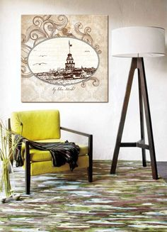 no107 paintings - istanbul