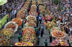 Festival of the flowers Colombia
