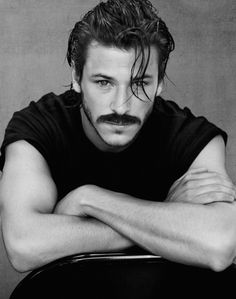 oh ma gah, gaspard with a moustache