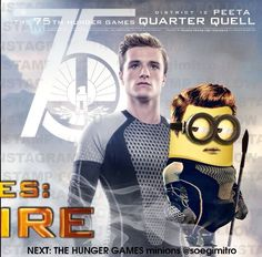 Minion The Hunger Games!