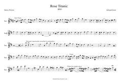 alto saxophone sheet music | tubescore: Titanic Sheet music for Alto Saxophone by James Horner Alto ...