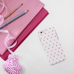 Cute pink hearts  iPhone 7 Cover by Madotta | Available for all iPhone models and  Samsung Galaxy S devices. Printed in the UK. Worldwide shipping available. Trendy iPhone 7 Plus Cases  #madotta View more at https://madotta.com/collections/all/?utm_term=caption+link&utm_medium=Social&utm_source=Pinterest&utm_campaign=IG+to+Pinterest+Auto