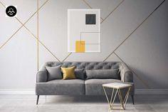 Zweisitzer Sofa, Spur, Modern, Interior, Room, Inspiration, Design, Furniture, Home Decor