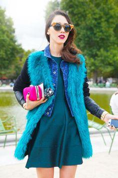 Paris Street Style 2012 - Paris Fashion Week Spring 2013 Style - ELLE