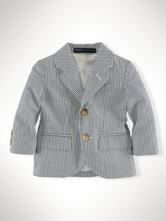 Seersucker Sport Coat - Baby Sale   Infant Boy (9M–24M) - RalphLauren.com
