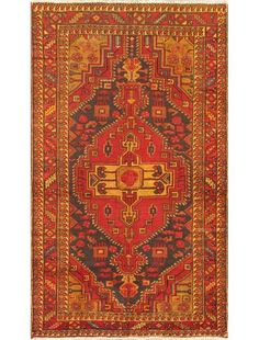 Antique Heriz Rug Size 7 8 Quot X 10 11 Quot Hand Knotted In
