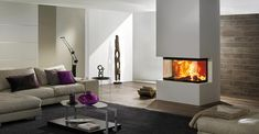 Foyer 3 RL 100 h - dans le Nord Fire Inserts, Wood Fuel, Log Fires, Electric Fires, Fireplace Inserts, Architectural Features, Hearth, Living Area, Sweet Home